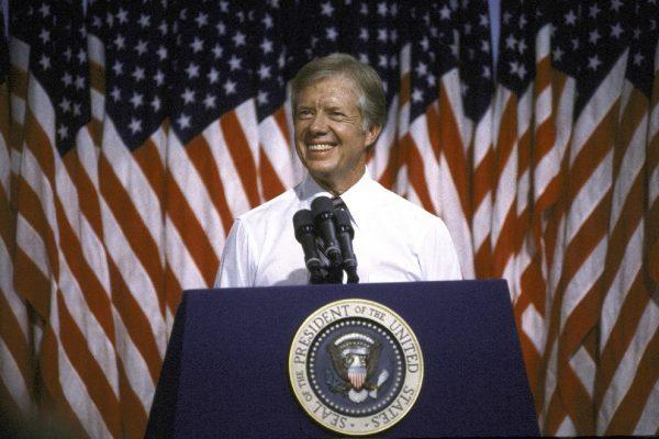 Jimmy Carter słabo wypadał przed kamerą